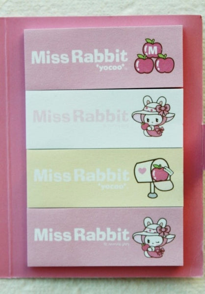 Post It Memo Pad - Miss Rabbit Polka dots - CharmTape - 3