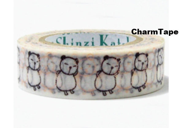 Dancing Panda Washi Tape 10m x 15mm WT298 by Shinzi Katoh - CharmTape - 2