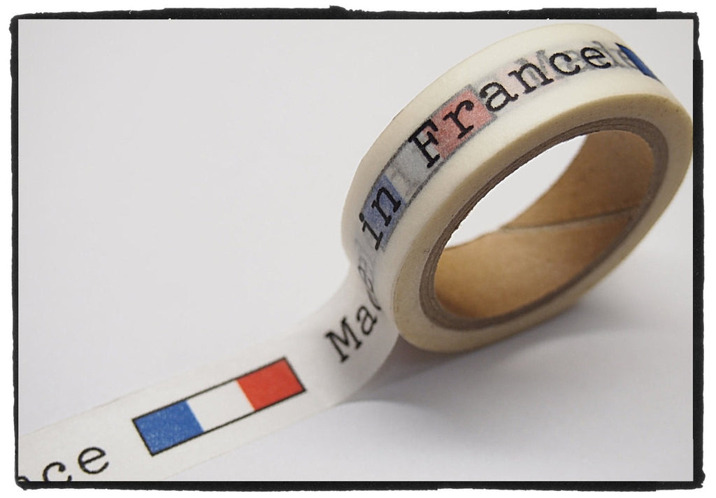 Made in France Washi Tape 15mm WT299 - CharmTape - 1
