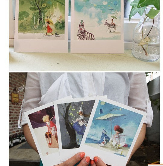 Korea DIY decoden Cards Set in tin box - Fairy tale Prince - CharmTape - 3