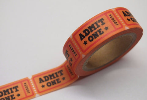 Game ticket Washi Tape WT370 - CharmTape