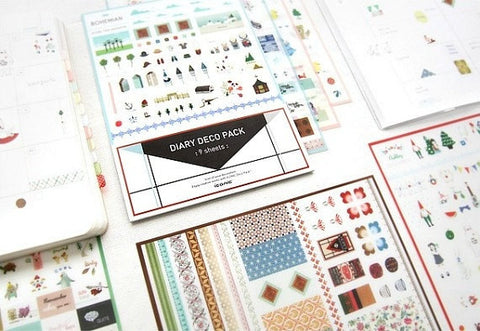 Diary Sticker Pack Version 1 SS476 - CharmTape - 1