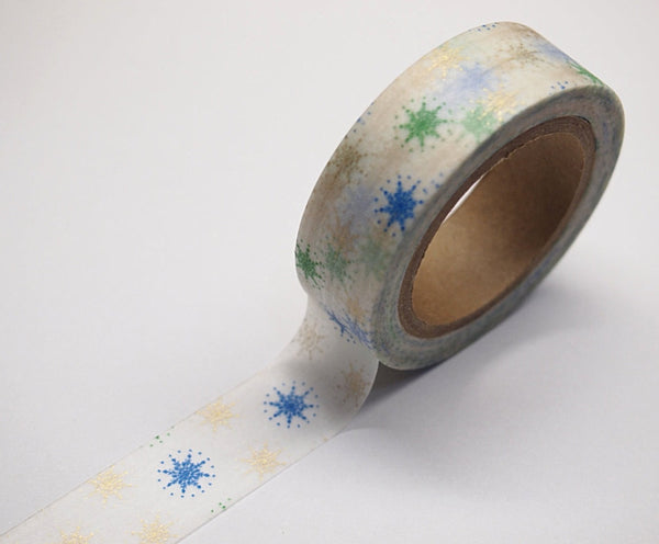 Stars Washi tape 15mm x 10m WT514 - CharmTape - 2
