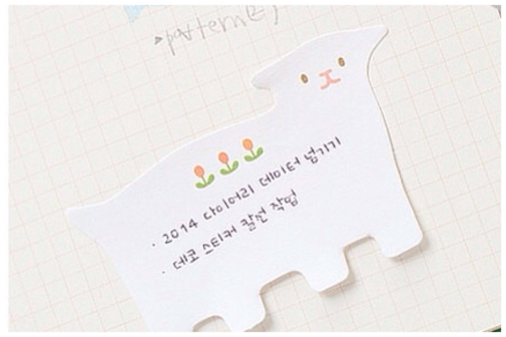 Post-it Memo Note Pad - Lamb PN5 - CharmTape - 1