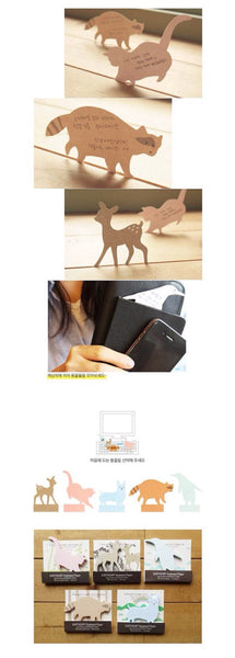 PC Memo Note Pad - Bambi Deer 35 sheets AA8 - CharmTape - 5