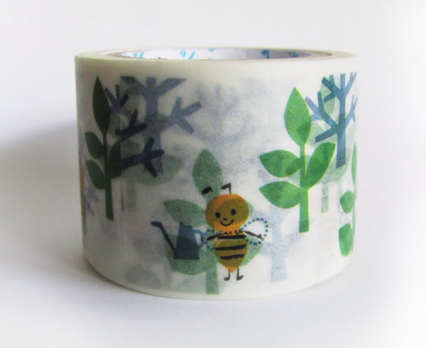 Bee Washi Tape Shinzi Katoh 30mm Wide x 10m WT549 - CharmTape - 2