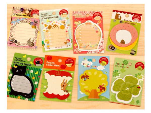 Squirrel Sticky Post It Memo Note Pad s269 - CharmTape - 2
