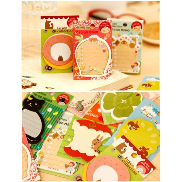 Squirrel Sticky Post It Memo Note Pad s269 - CharmTape - 5