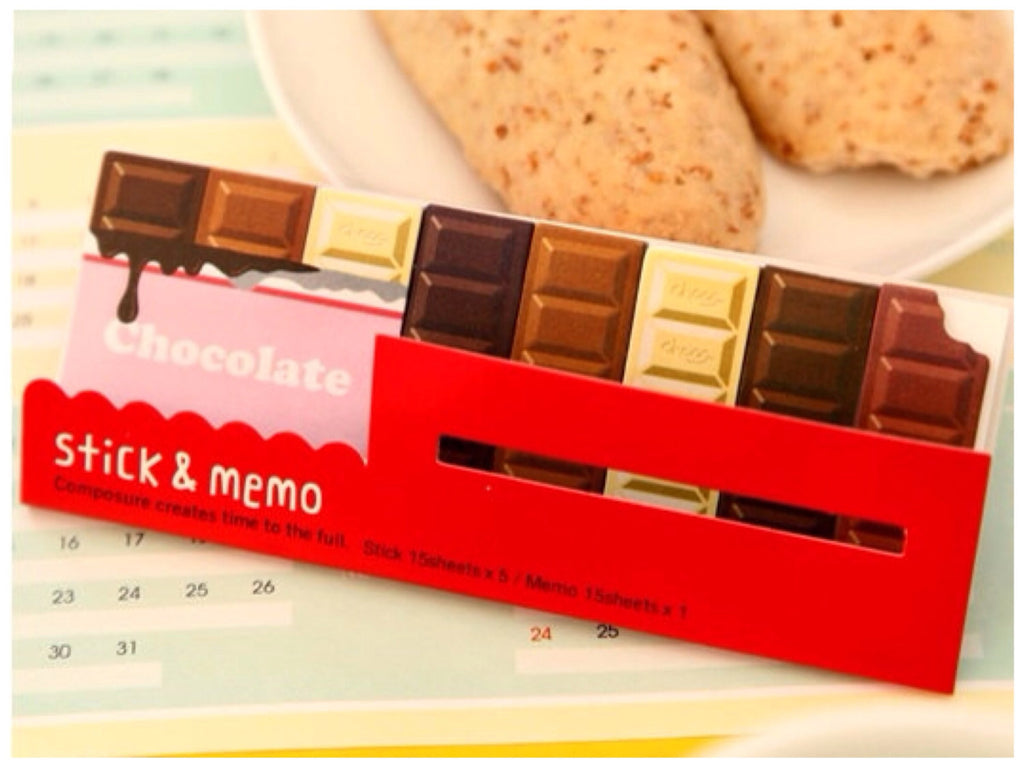 Post It Memo - Chocolate bar SS713 - CharmTape - 1