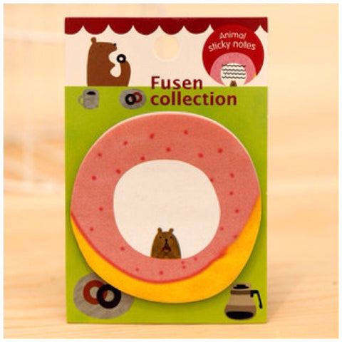 To do list Sticky Post It Memo Note Pad s283 Donut - CharmTape - 1