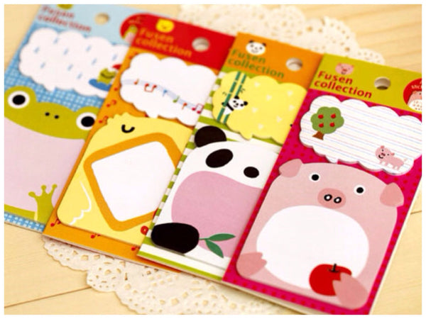 Sticky Memo Note Pad - Let's Sing or Eat - CharmTape - 1