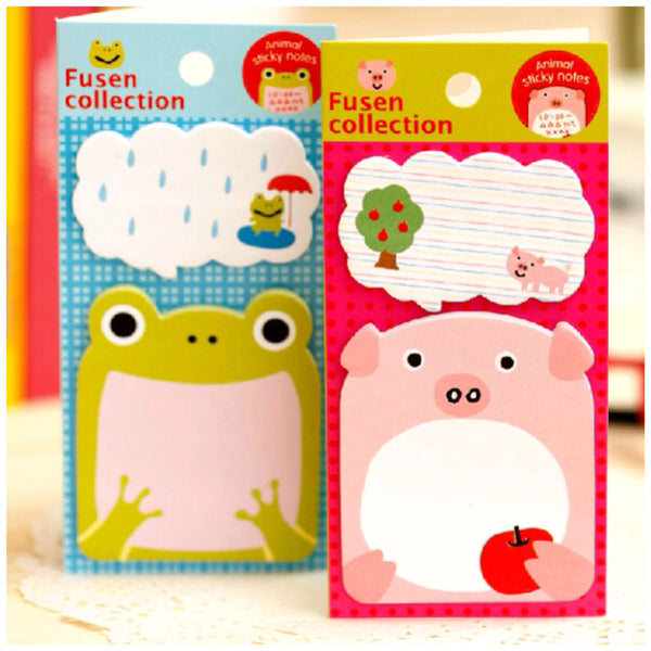 Sticky Memo Note Pad - Let's Sing or Eat - CharmTape - 3