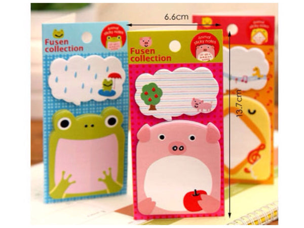Sticky Memo Note Pad - Let's Sing or Eat - CharmTape - 2