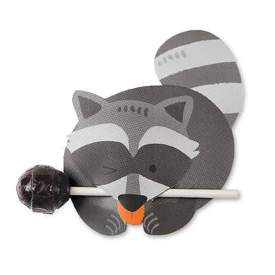 Lollipop / Pencil Holder - Small Gift - Class Gift - Party Favor - Thank You Gift 48-50 Lollipop Covers - Bears & Raccoon