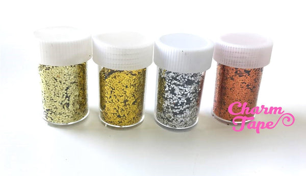 Loose Glitters, bottle glitter UV resin, nail gel, acrylic nail, nail polish glitter Metallic Embellishment Costume Craft