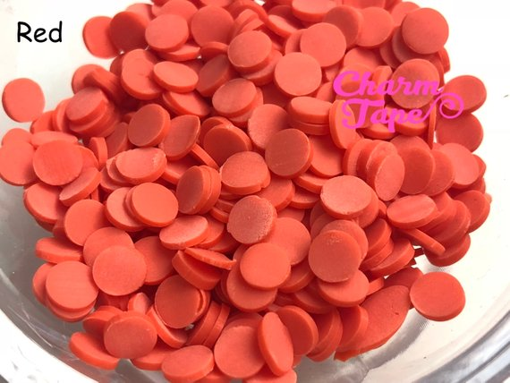 3g/15g/50g Round Polymer Clay Confetti Sprinkles Topping Tiny Decoden Faux Miniature Fake Food Funfetti Rainbow Jimmies 5mm
