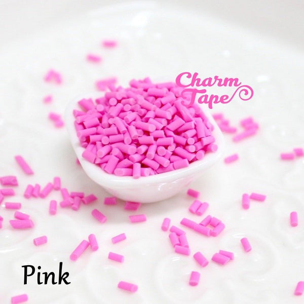 3g/15g/50g Polymer Clay Confetti Sprinkles Topping Tiny Decoden Faux Miniature Fake Food 3mm