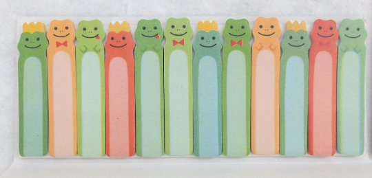 Happy Frog Sticky Post It Memo Note Pad 180 sheets SS304