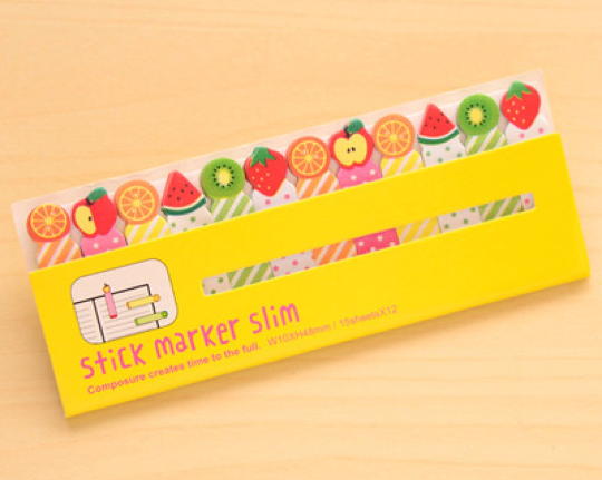 Fruit Sticky Post It Memo Note Pad 180 sheets SS305