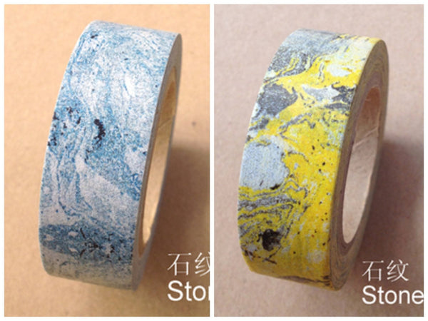 Marble stone Washi Tape Roll Adhesive Stickers WT374