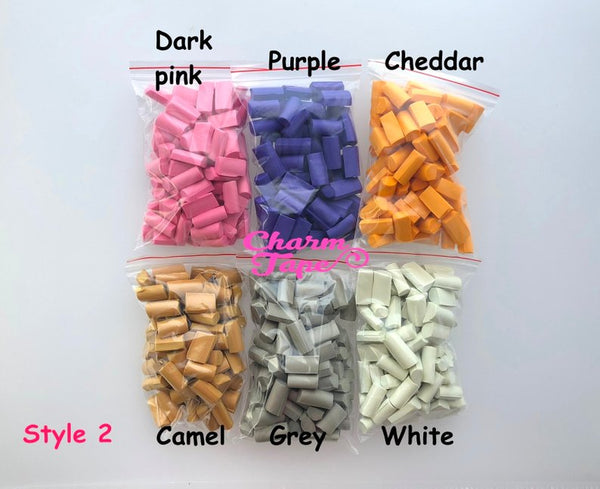All 9 Colors Chunky Squishy Foam Block Slime Chunk Pieces, Foam for Slime, 15 grams each pack