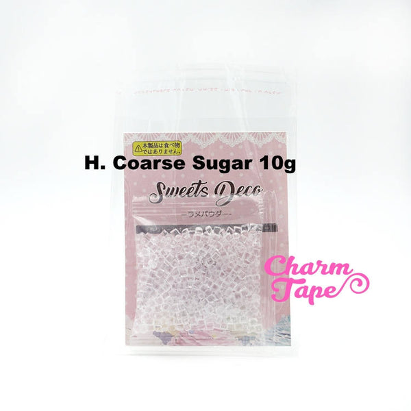 Fake Sugar Sprinkles / Sugar Cubes / Fake Topping- 10 grams Tiny Decoden Faux Miniature Fake Food