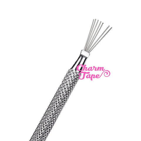 7 Pins Clay Texturing Tool | Feather Wire Texture Brush for Sculpting and Modeling | Scoring Tool | Polymer Clay Supplies