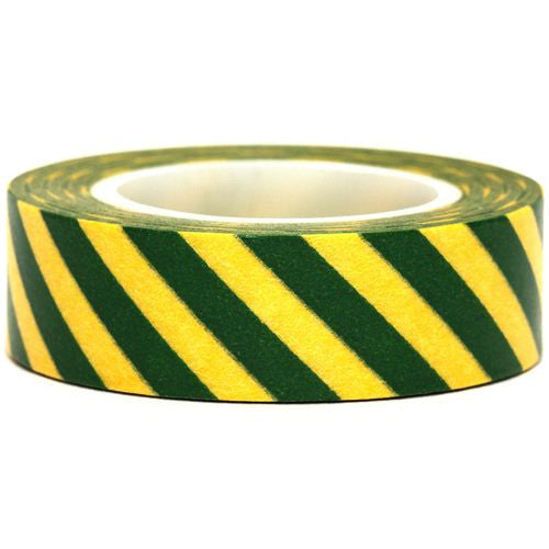 Stripes Washi Masking Tape Roll 15mm WT38 - CharmTape - 14