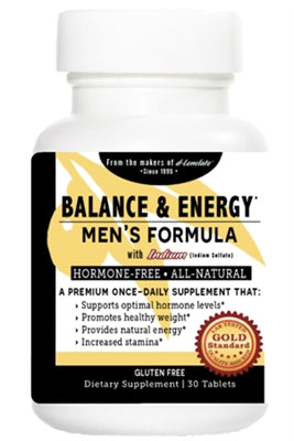 Balance & Energy Men's Formula with Indium 90ct - Wellness Works