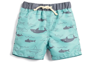 Funny Shark Lovers Beach Shorts 2