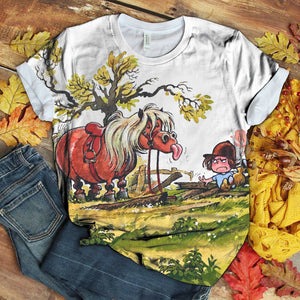 Horse Lovers Gorgeous Art T-Shirt 32