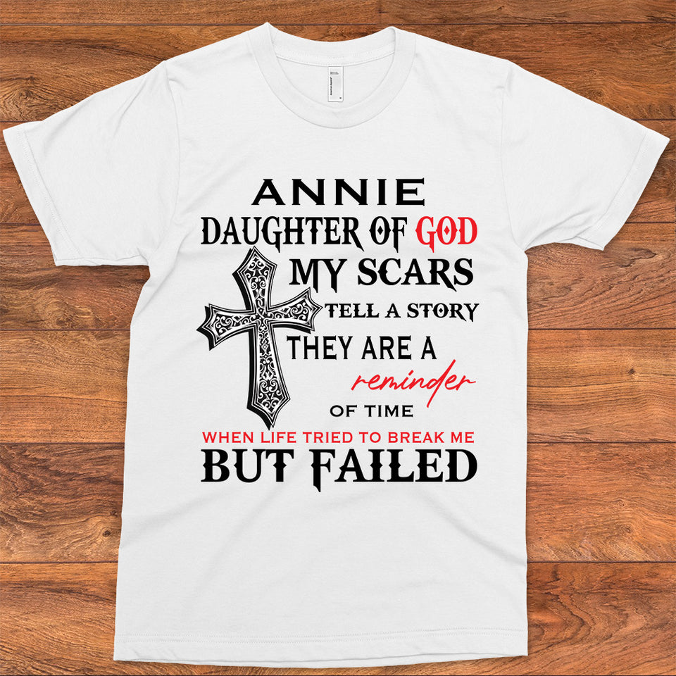 annie daughter of god my scars tell a story