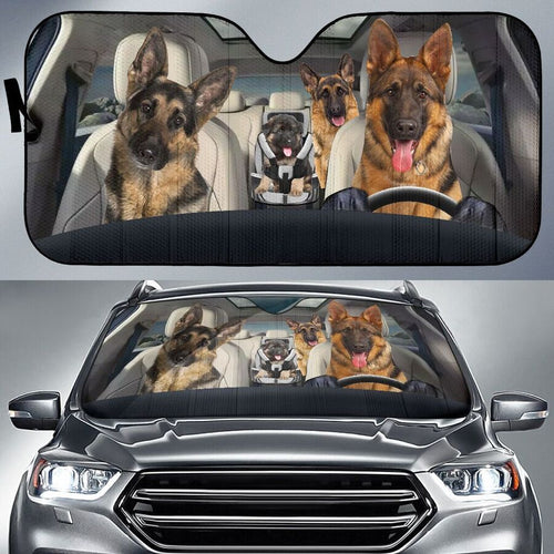 My German Shepherd Sun Shade
