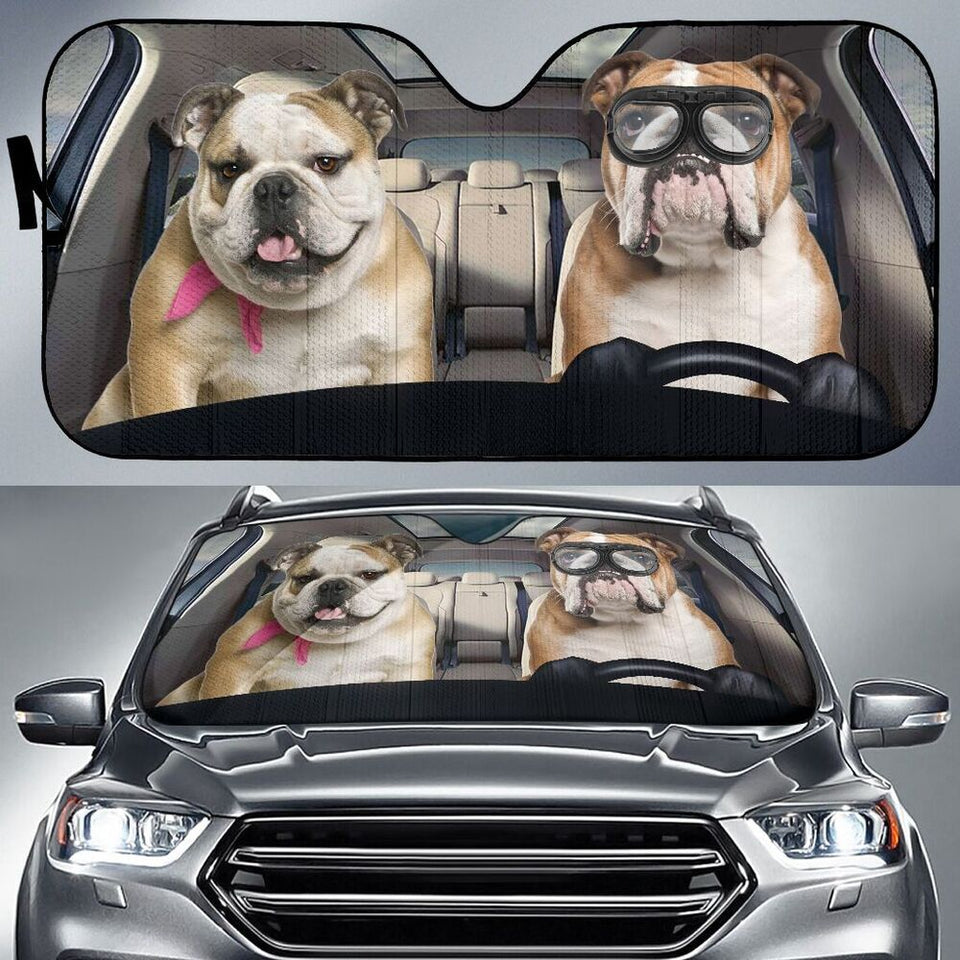 My Bulldog Sun Shade