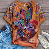 Chicken Fabulous Unique Design Art T-Shirt 8