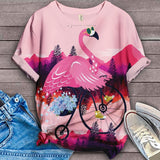 Flamingo Lovers Classic T-Shirt