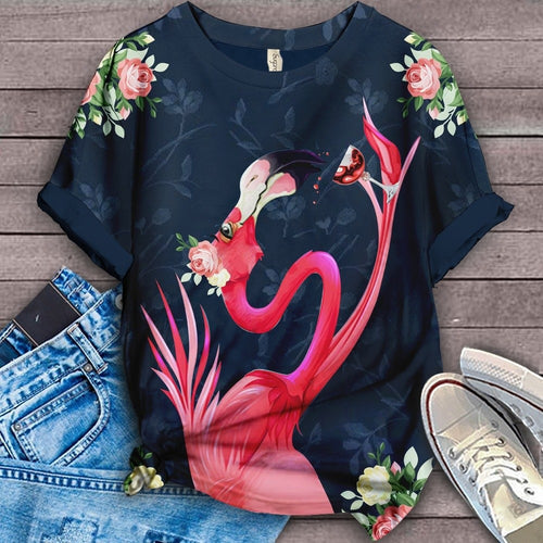 Flamingo Lovers Classic T-Shirt 25