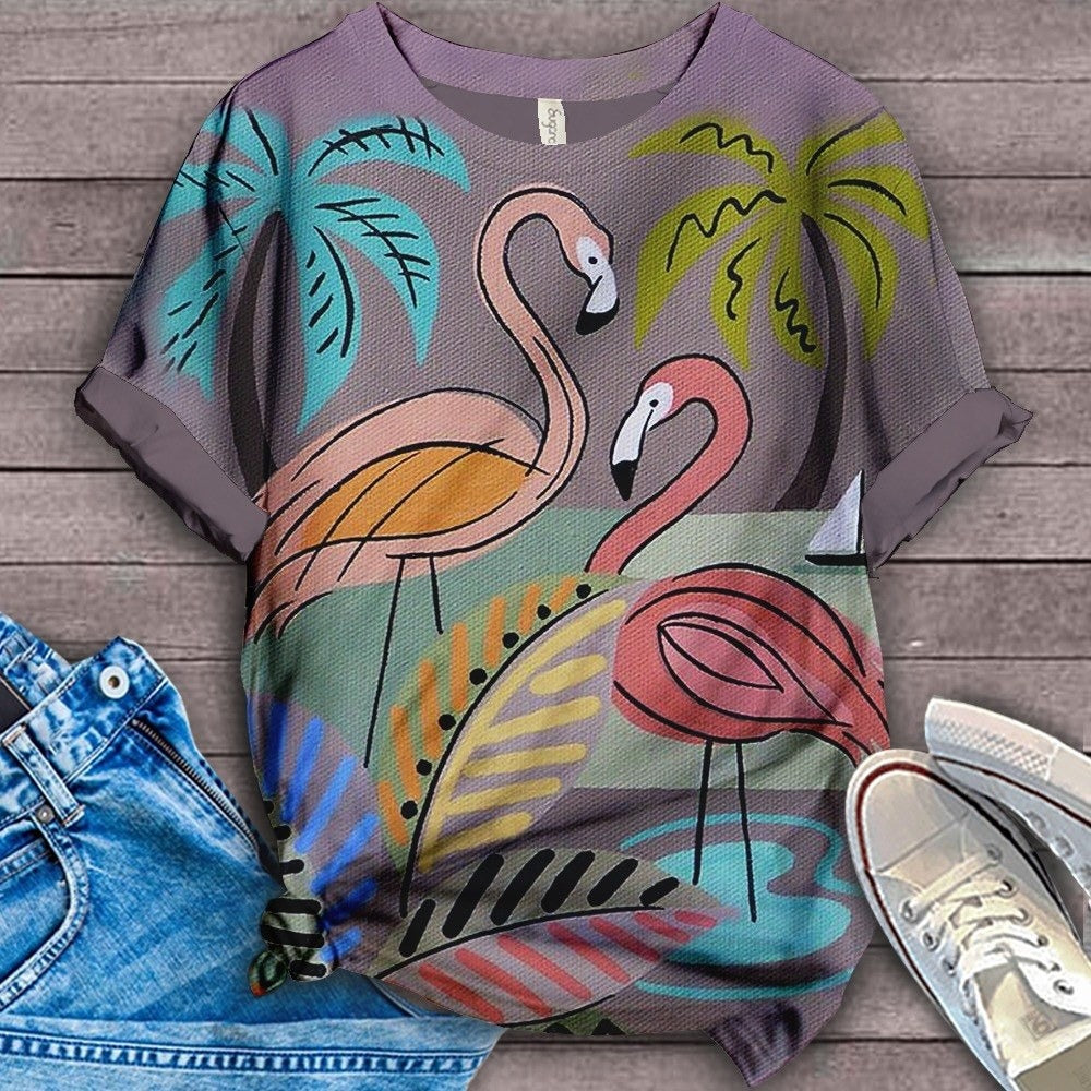 Flamingo Lovers Classic T-Shirt 26