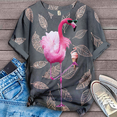 Flamingo Lovers Classic T-Shirt 33