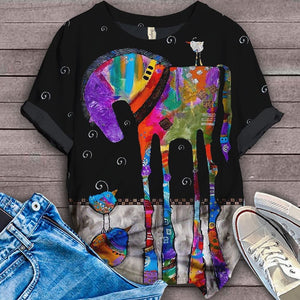 Horse Lovers Gorgeous Art T-Shirt 8