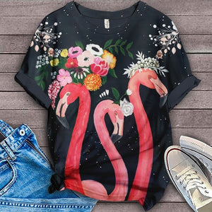 Flamingo Lovers Classic T-Shirt 14