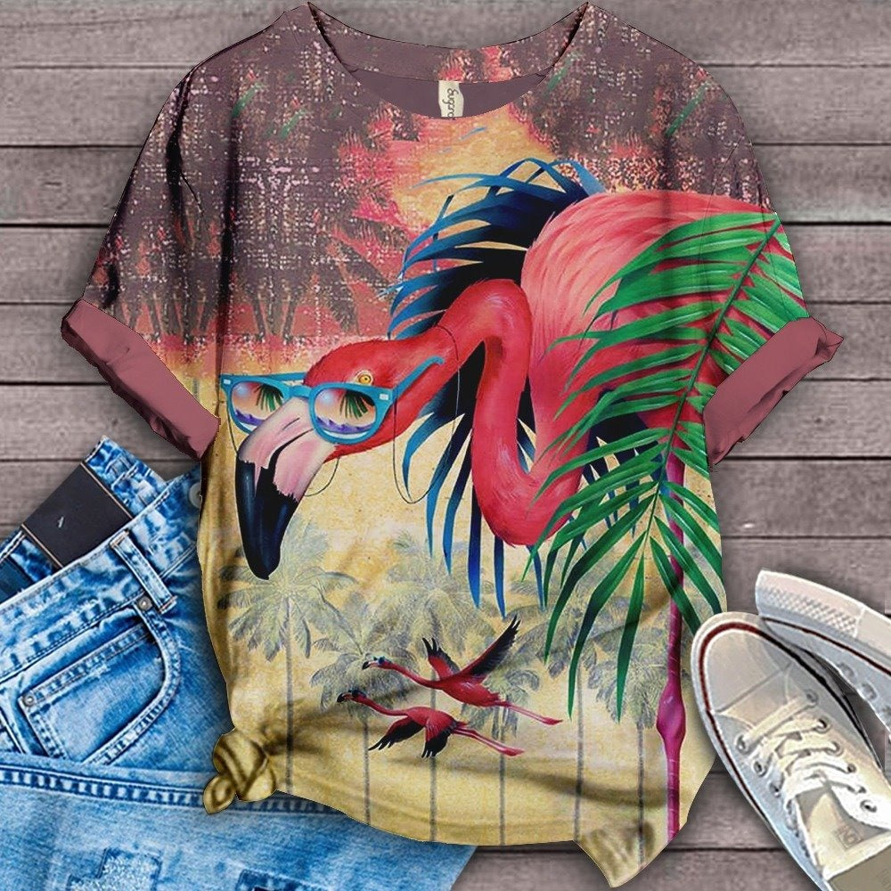 Flamingo Lovers Classic T-Shirt 17