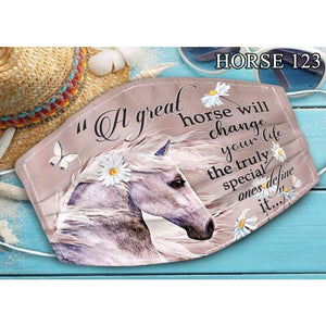 Horse Lovers Mask 19