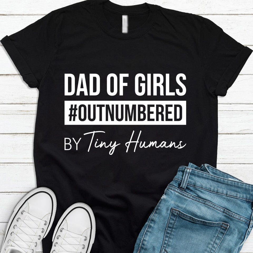 Dad of girls #outnumbered by tiny humans