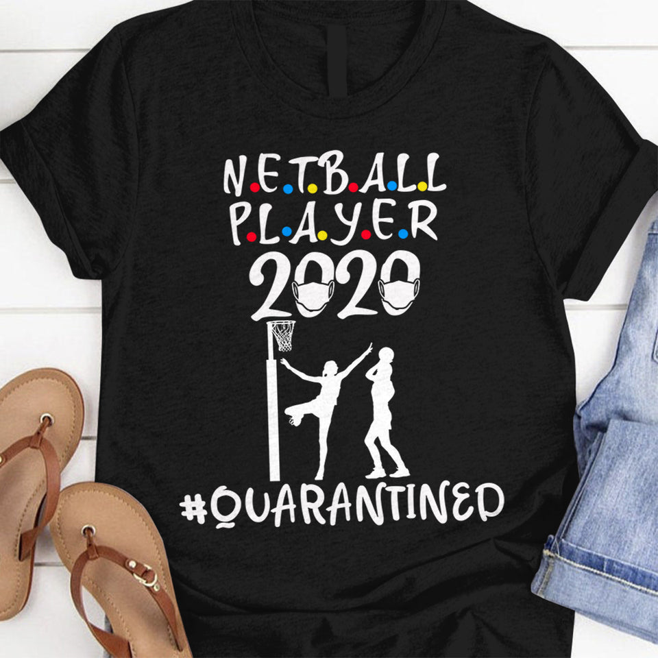 Netball Player 2020 quarantined