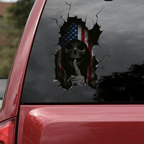 DEATH CAR STICKER