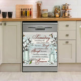 HummingBird Everything Happens For A Reason Dishwasher Cover