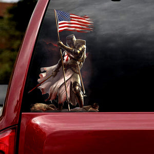 WARRIOR CAR STICKER 3