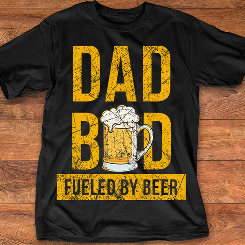 Dad Bod Fueled By Beer