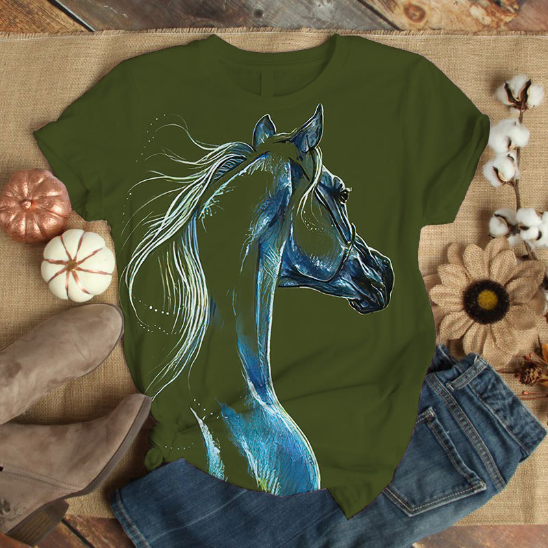 Horse Lovers Gorgeous Art T-Shirt 21